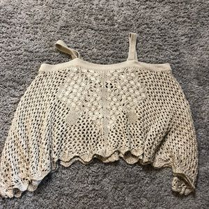 Small poncho sweater, super cute over a swimsuit